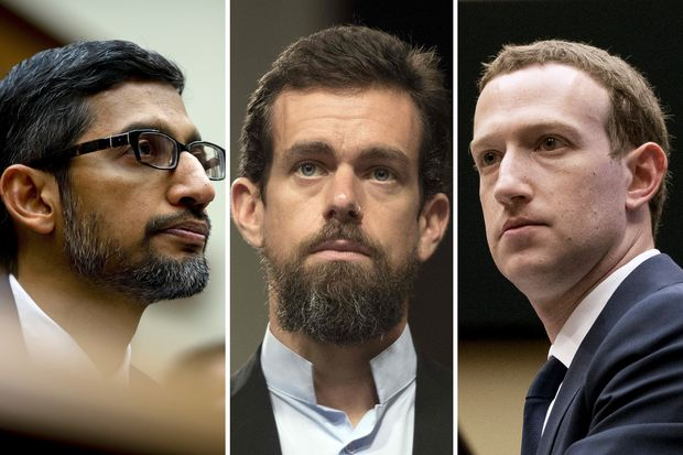 US Summons CEOs Of Facebook, Google & Twitter Over Suppressing Conservative Users