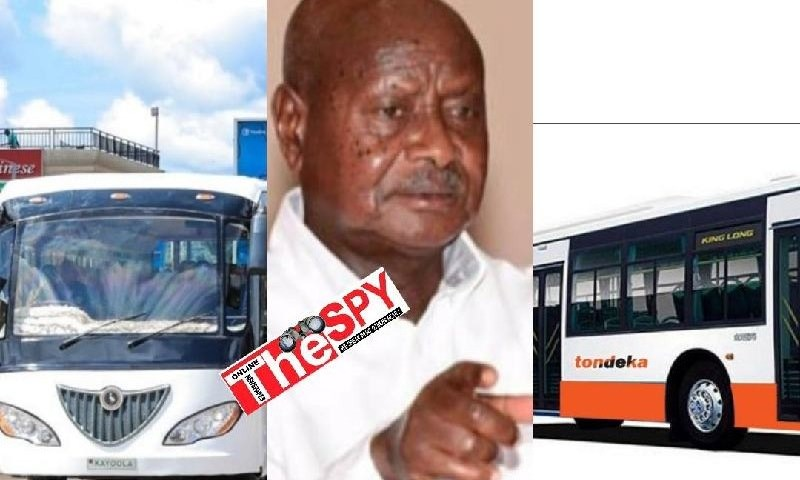 Museveni Dustbins Kiira Motors Fraudulent Deals Of Imported Buses, Authorizes Tondeka For City Public Transport