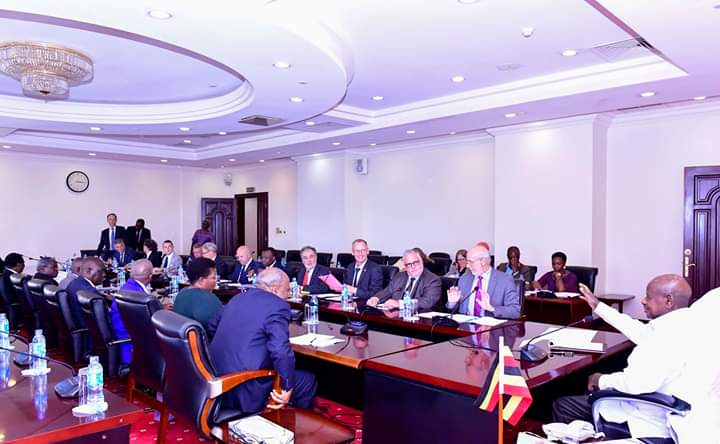 Museveni, European Union Hold Political Dialogue Ahead Of 2021 General Elections