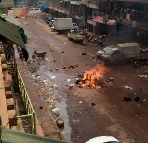 Enough Is Enough! Angry Protestors Put Kampala At Stand-still Over Bobi's Arrest