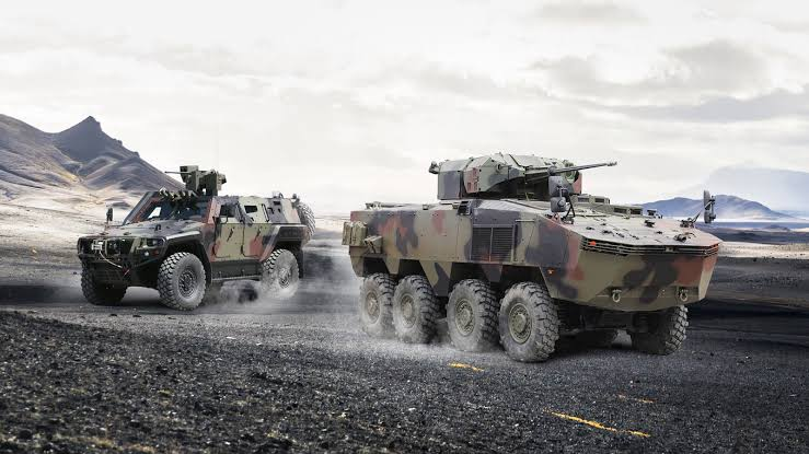 Hidden Deal! Gov't Tightens Security With New Arma 8×8 & Cobra II Deadly Armored Vehicles Ahead Of Elections