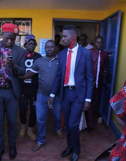 Bobi Wine Thrown Out Of Spice FM In Hoima District