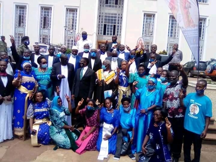 FDC's Amuriat Oboi Pays Courtesy Visit To Buganda Kingdom