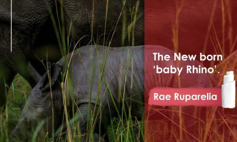 New Born Rhino In Nakasongora Named After Ruparelia