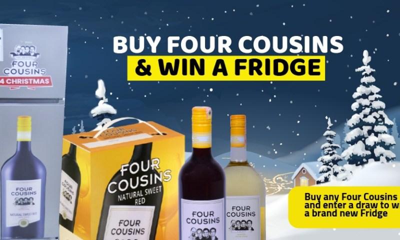 Kikuubo Online In 'Crazy' X-Mas Promo! Just Buy Four Cousins, Drink It & Win A Fridge!