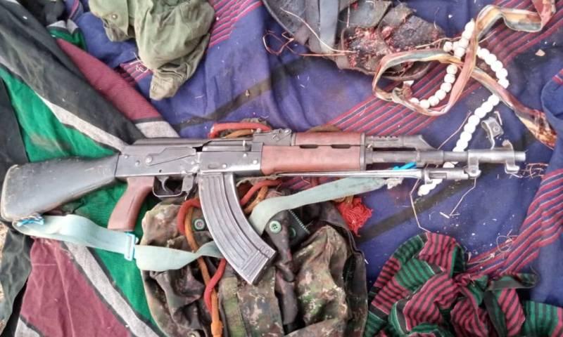 Police Gun Down Six Cattle Rustling Warriors In Karamoja, SMG Gun Recovered