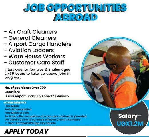 Job Slots! Premier Recruitment Announces Over 300 Juicy Airport Jobs In Dubai With Attractive Salarie