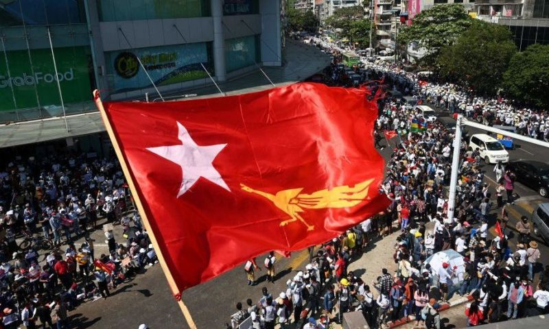 Myanmar Update: Protesters Return To Streets For 10th Day Despite Bloody Brutality, Abductions Of Top Critics & Internet Blackout
