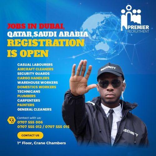 Job Slots: Premier Recruitment Announces Airport Jobs In Qatar,Saudi Arabia For Jobless Ugandan Youths