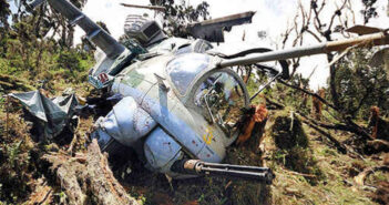 Grief! Four UPDF Officers Nurse Wounds As Helicopter Crash In Somalia