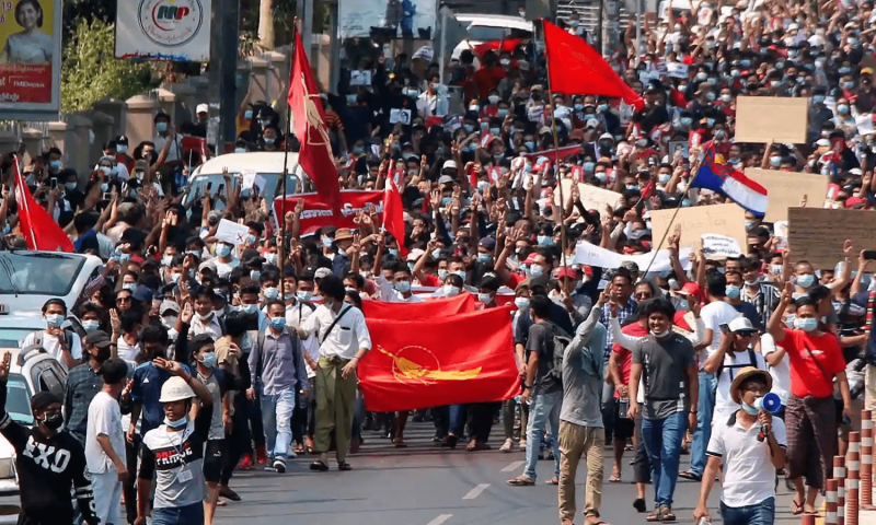Myanmar Protests: Thousands Shot Dead As Bloody Military Shoot To Kill Every Living Creature
