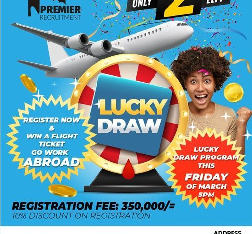 Have You Registered Yet With Premier Recruitment? Do It Now & Win Free Ticket To Work Abroad