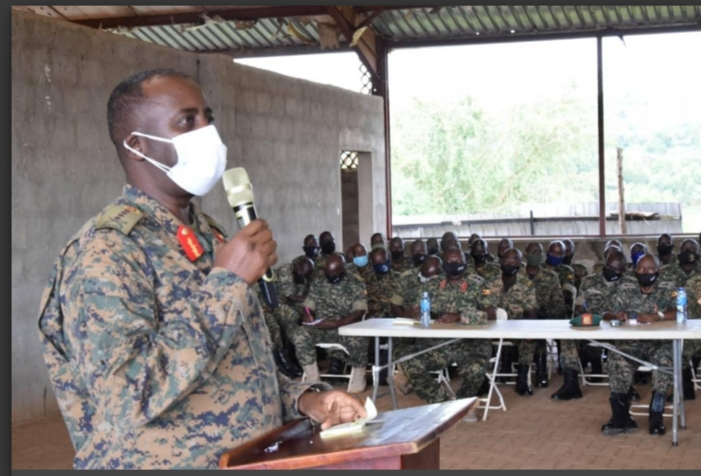 UPDF Flags Off 2416 Troops For Peacekeeping Mission In Somalia