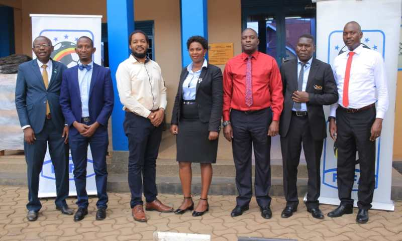 FUFA Meets National Council Of Sports As Monitoring & Evaluation Of National Federations Kick Off