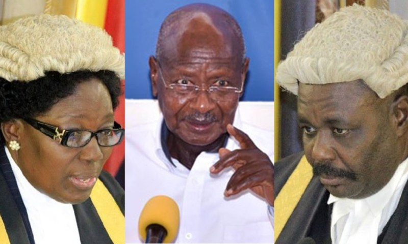 State House Meeting: Museveni Bangs Table As He Orders Kadaga To Stop Fighting Her Deputy Oulanyah But Instead Table Her Achievements