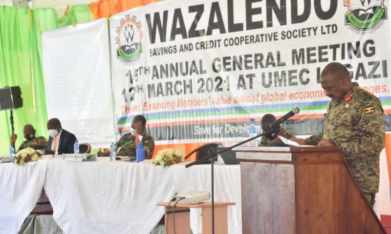 UPDF Wazalendo Sacco Hits 540 Billion Mark In Assets Amidst COVID-19 Challenges