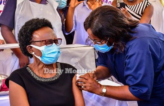 Uganda Kicks Off COVID Vaccination, Urges Continuous Observance Of SOPs