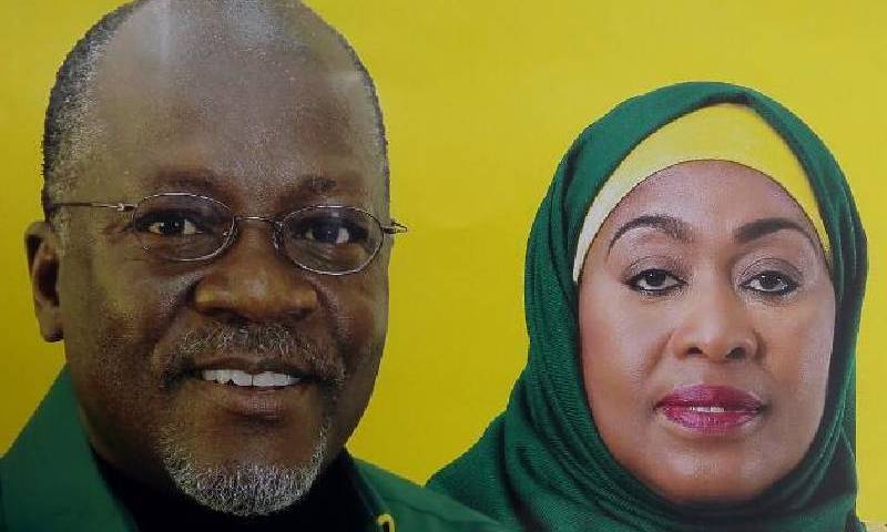 This Happens After Magufuli's Death! V/Presido Takes Over Office; Meet Tanzania's Next President Samia Suluhu