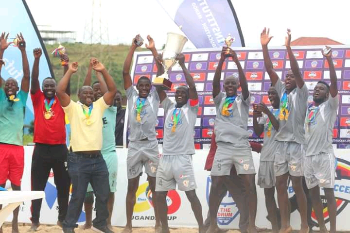 St Lawrence Crowned Champions Of FUFA Uganda Beach Soccer 2020/21