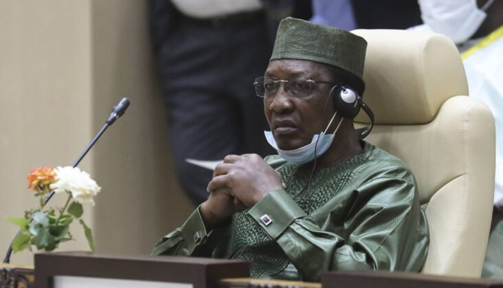 Breaking! Re-elected Chad President For 6th Term Déby Mysteriously Dies, Son Buries Constitution Takes Over Office