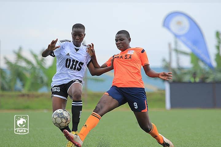 FUFA Women Super League: Olila High School Wins Isra Soccer Academy At 3-0