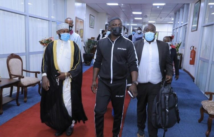 After Wife's Meeting With Museveni, International Music Star Akon Also Arrives In Uganda