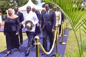 Tanzanian President Suluhu Makes First State Visit To Uganda To Finalize Oil Deals