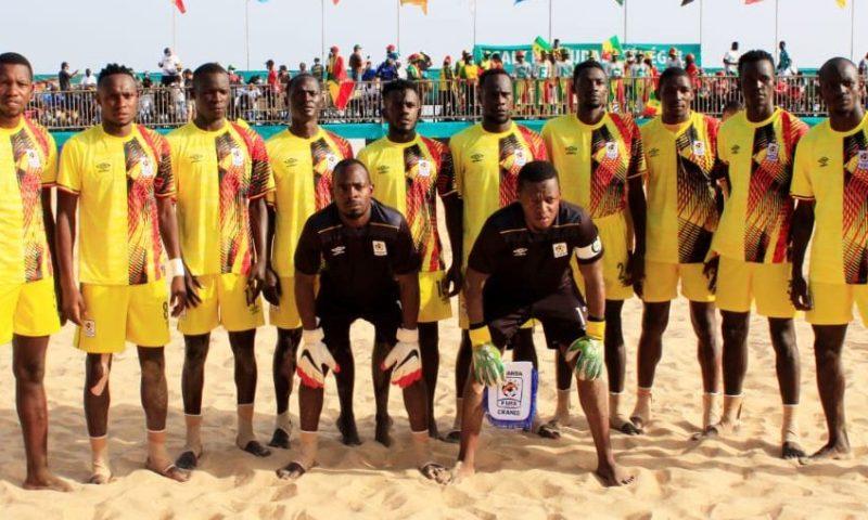 AFCON Beach Soccer 2021: Uganda Sand Cranes Register Landmark Debut After Meeting Hosts Senegal