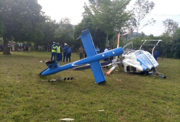 Kenya: Chopper Crashes Minutes After Dropping Raila Odinga