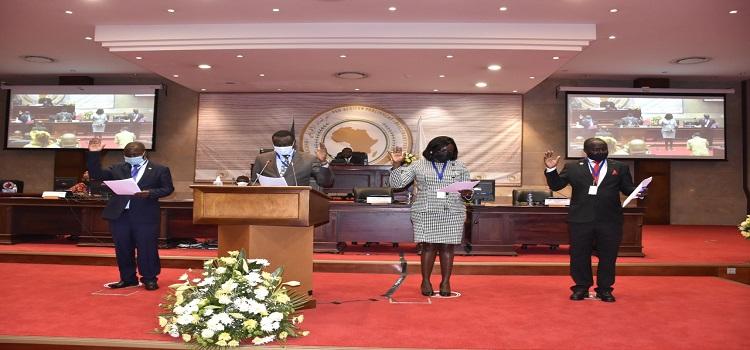 Ugandan Five Legislators Swear In At Pan African Parliament, Tasked To Promote Continental Pan Africanism