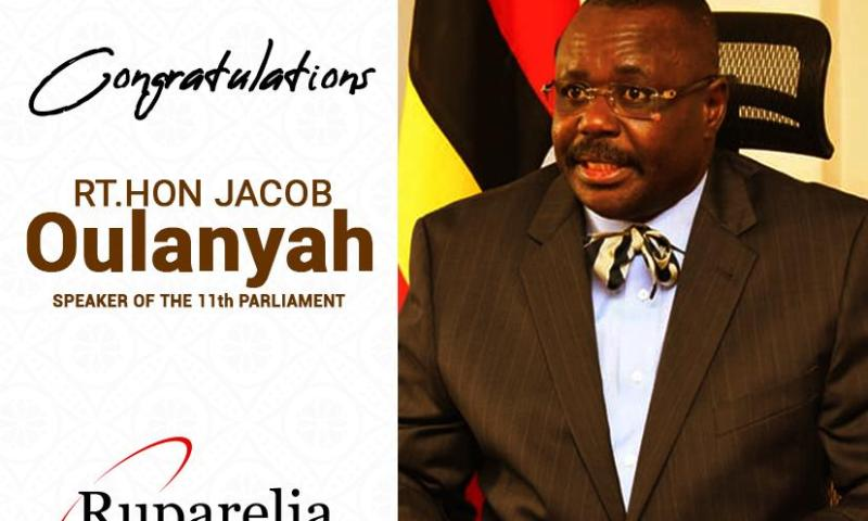 Ruparelia Group Congratulates Uganda's Elected Speaker Of 11th Parliament Jacob Oulanyah