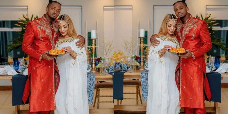 Mixed Reactions As Zari Hassan & Diamond Platnumz Romantically Spend Eid Together