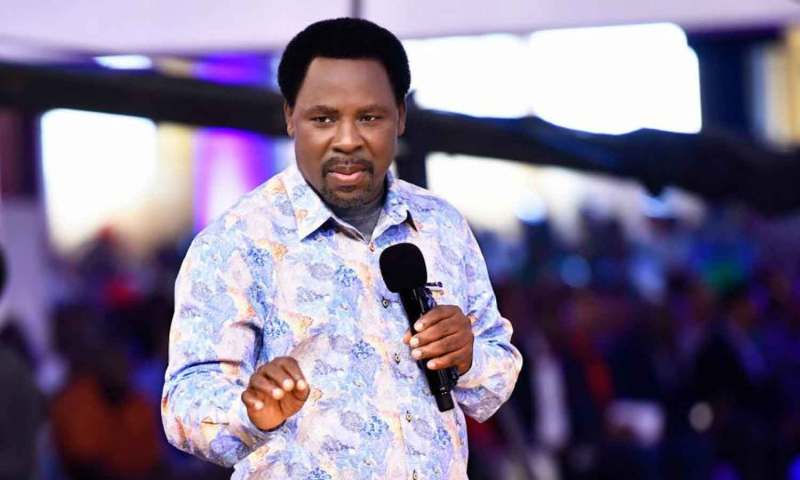 Breaking: Prominent Prophet TB Joshua Dies At 57!
