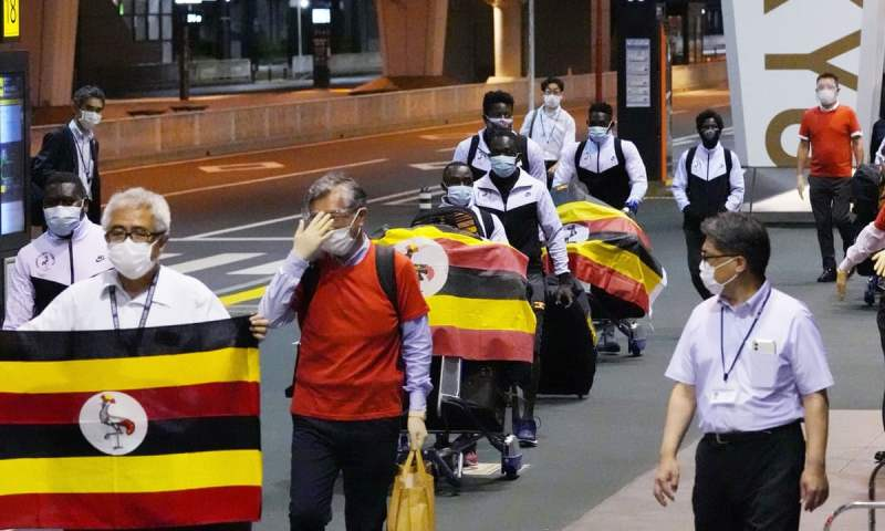 Uganda Team Member Kicked Out Of Tokyo Olympics After Testing COVID-19 Positive