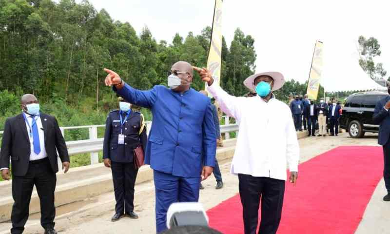 Museveni, Tishsekedi Launch Construction Of 223km Road Network To Boost Trade, Security