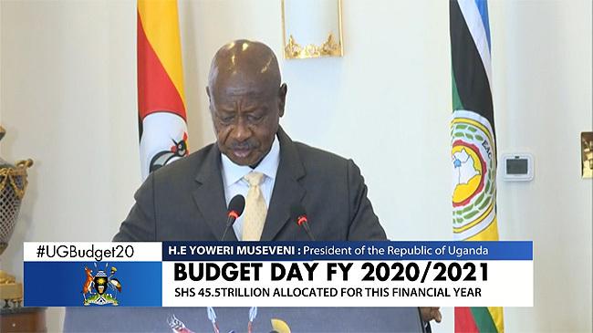 Museveni's Full Budget Speech: Uganda's Per Capita Income Steadily Growing, Coffee, Dairy, Tea & Fish Remain Leading Exports