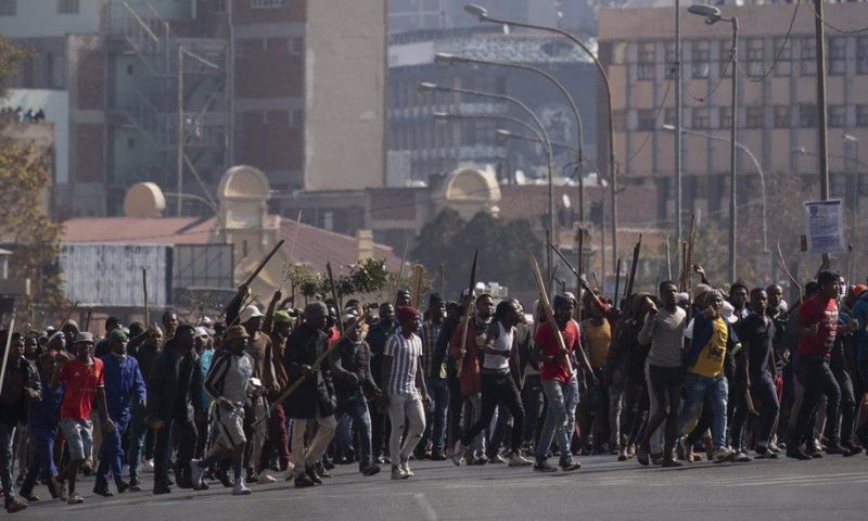Dozens Arrested In South Africa As Violent Protests Erupt Demanding For Zuma's Release From Jail