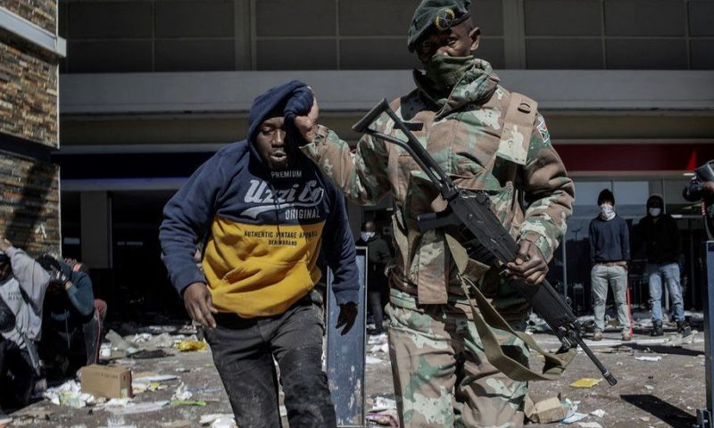South Africa Turns Into War Zone As Government Deploys More 25,000 Troops To Curb Growing Looting And Violence