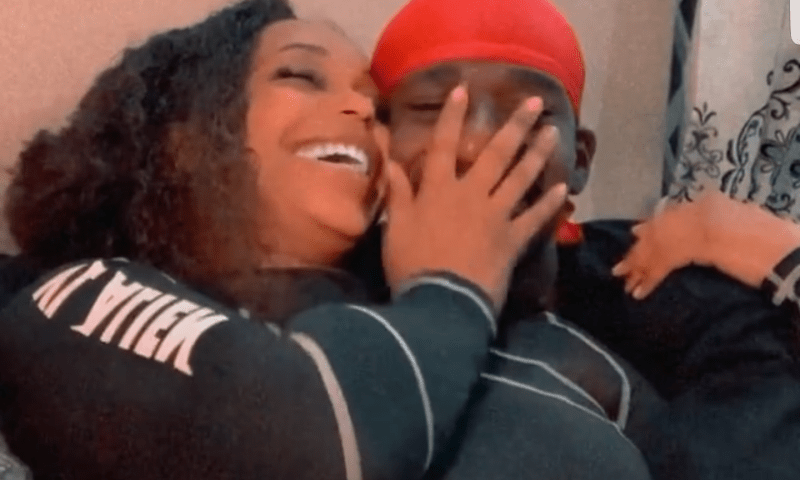 VIDEO: Madly-In-Love Singer Grenade Romances New Bae's Waterlogged 'Thingie' Live On Camera