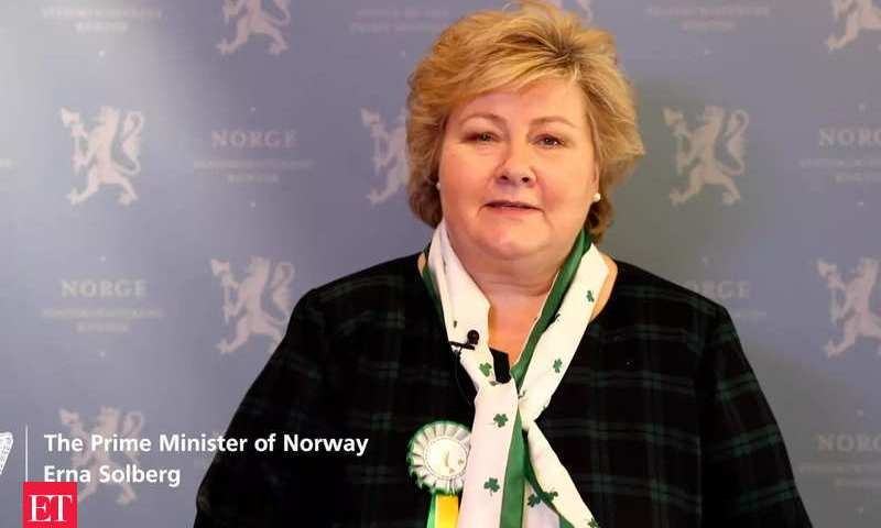 Leave Alone Arrogant African Leaders: No One Is Above The Law In Norway As PM Coughs Millions For Violating COVID-19 SOPs