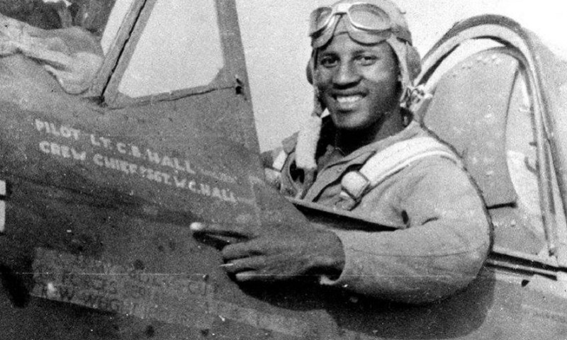 Meet Charles Hall, The 1st African Pilot To Shoot Down A Nazi Plane On This Day