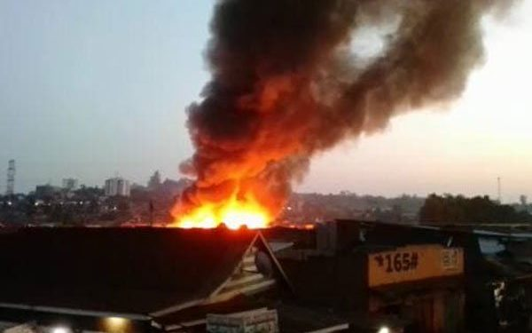 Two Dead, Property Worth Millions Destroyed As Fire Guts Kamwokya Houses