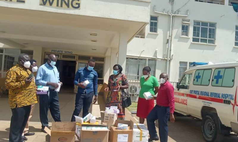 Fort Portal MPs Join Hands To Support COVID-19 Frontline Workers, Vulnerable Patients