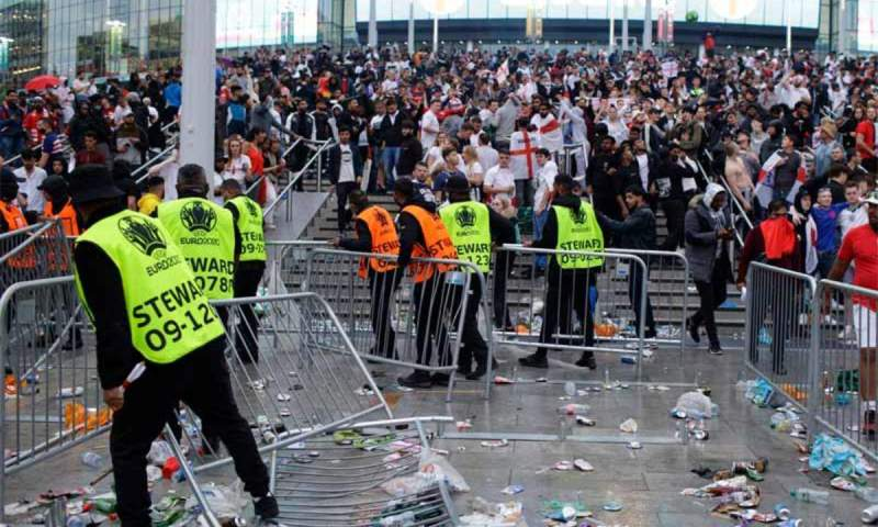 FA Announces Independent Review Into Wembley Security Breaches During Euro 2020 Final