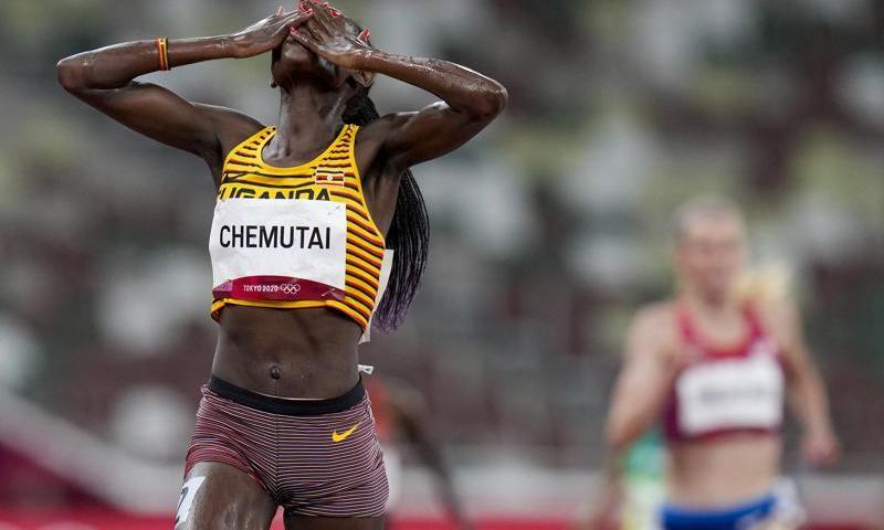 Peruth Chemutai Creates History For Uganda With Women's 3,000m Steeplechase Gold