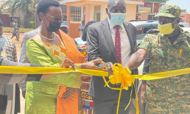 Luwero Triangle Minister Alice Kaboyo Commissions 'Tactical' Office In Luwero, Vows To Fight Poverty
