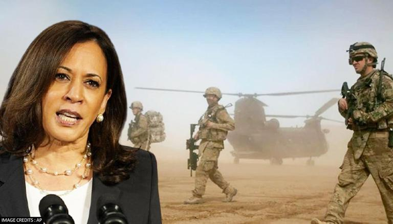 Kamala Harris Hails 13 American Commandos Killed At Kabul Airport Last Night