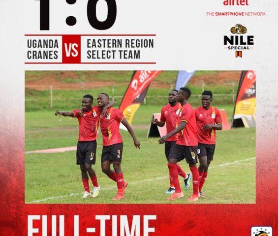 Regional Tour: Uganda Cranes Edge Eastern Region Select 1-0