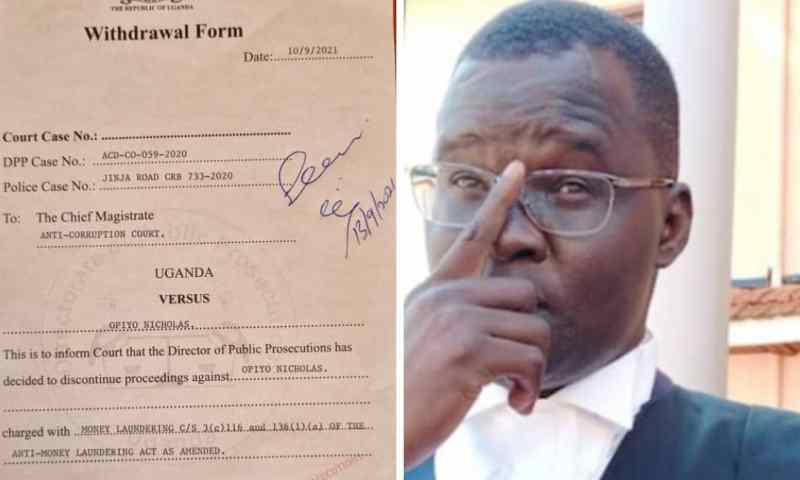 Breaking! DPP Drops Money Laundering Charges Against Rights Activist Lawyer Nicholas Opio!
