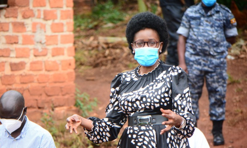 Stop Snoring, Wake Up & Fight For People: Minister Nabakooba Tasks LC Leaders As She Storms Wakiso Land Wrangles